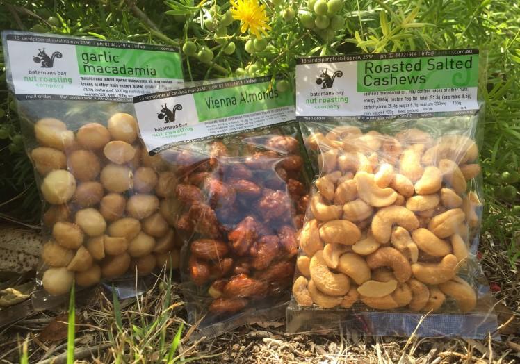 Batemans Bay Nut Roasting Company nuts