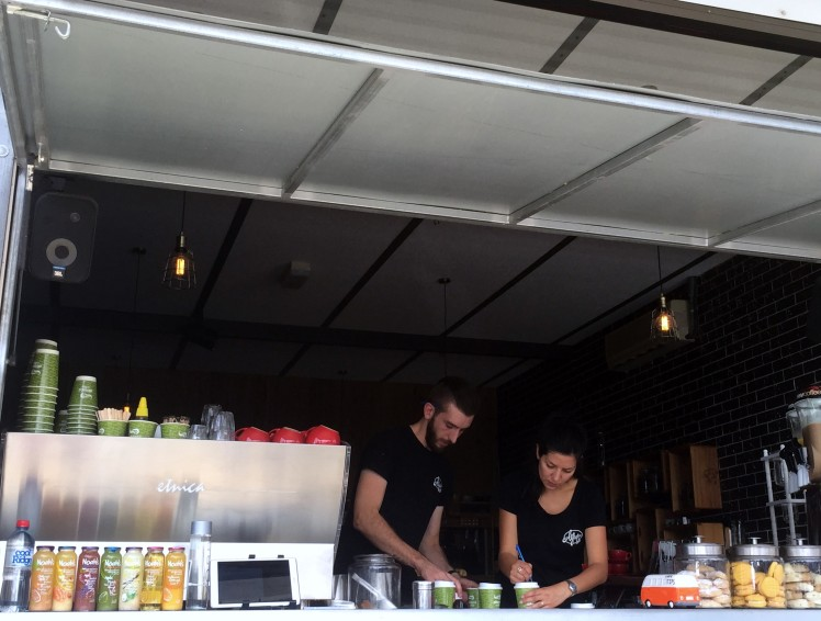 Moruya - coffee shop
