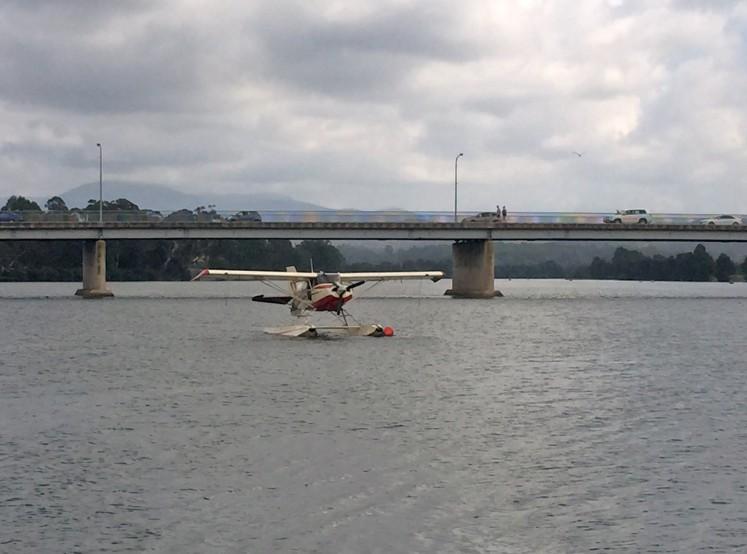Moruya Country Market - sea plane