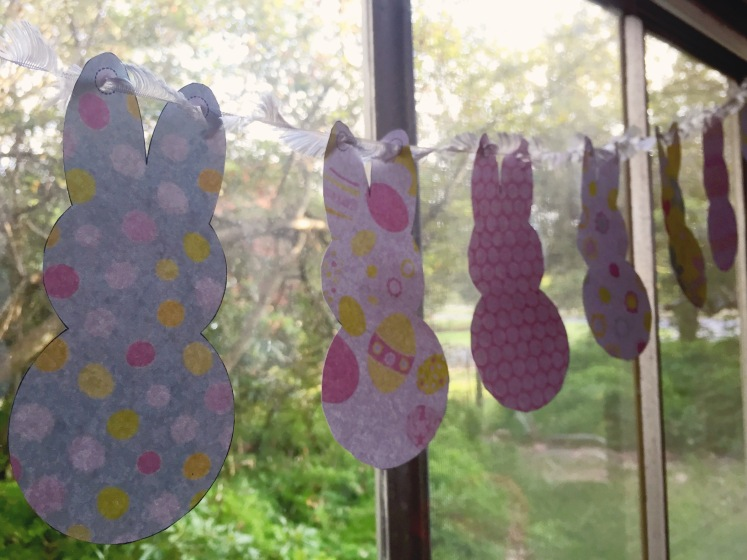 The Broulee Easter Bunny - Easter bunny bunting